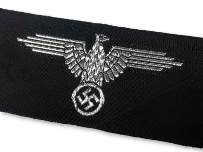 Original WWII German Waffen-SS Officers arm eagle (Belgian made)