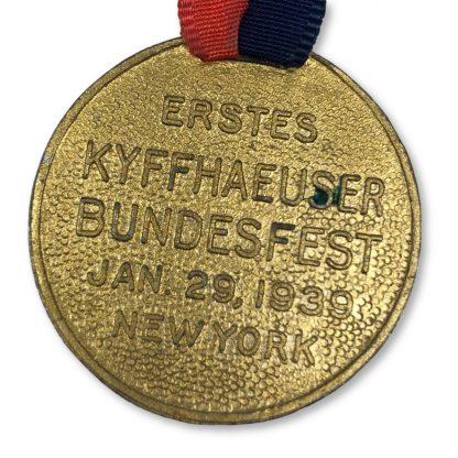 Original WWII German Kyffhausserbund New York 1939