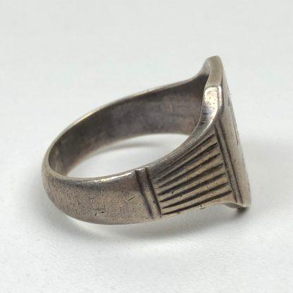 Original WWII German silver Crimea ring
