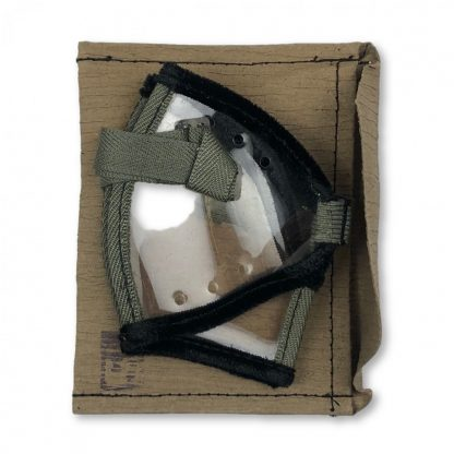 Original WWII German Dust goggles with pouch