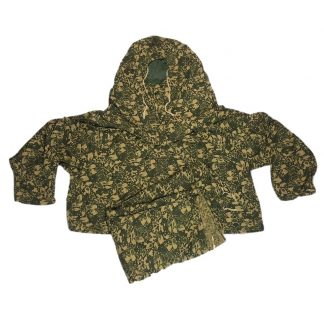 Original WWII Russian MKK leaf camouflage smock with trousers