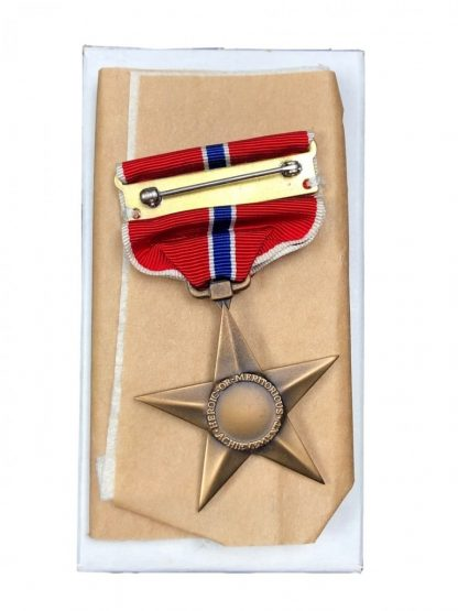 Original WWII US Bronze star