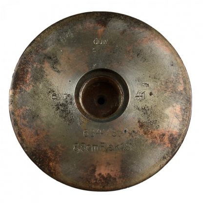 Original WWII German Flak 88 shell