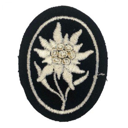 Original WWII German Waffen-SS Gebirgsjäger patch