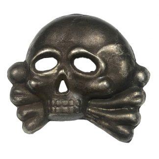 Original WWII German SS 1st model Danziger skull