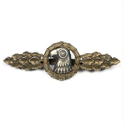 Original WWII German Luftwaffe 'Frontflugspange fur Aufklärer im Gold'