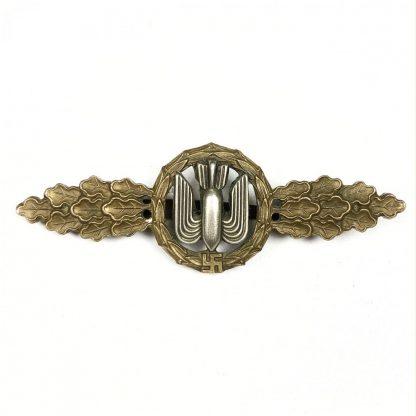 Original WWII German Luftwaffe 'Frontflugspange fur Kampfflieger im Bronze'