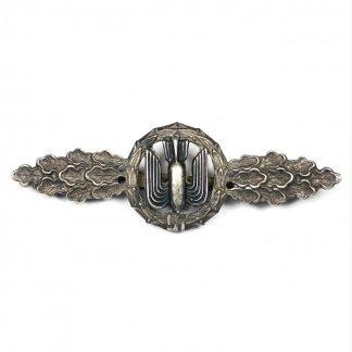 Original WWII German Luftwaffe 'Frontflugspange fur Kampfflieger im Silber'