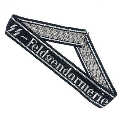 Original WWII German Waffen-SS Feldgendarmerie cuff title