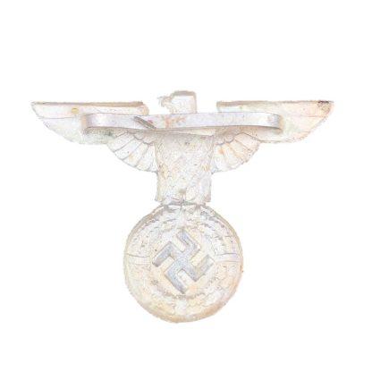 Original WWII German early SA/SS visor cap eagle