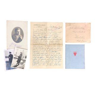 Original WWII Austrian prisoners set 'Sentenced for high treason' Zuchthaus Stein (Donau)