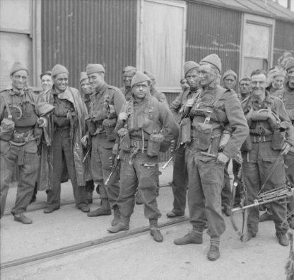 Original WWII British commando cap