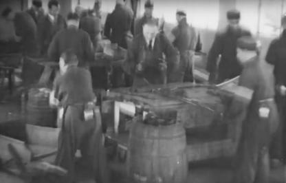 Original WWII Dutch camp 'durchgangslager' Westerbork inmates hat