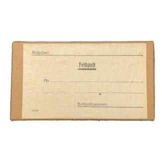 Original WWII German carton Feldpost box