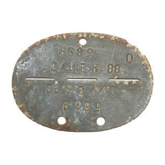 Original WWII German Erkennungsmarke 'Infanterie-Ersatz-Bataillon 88'