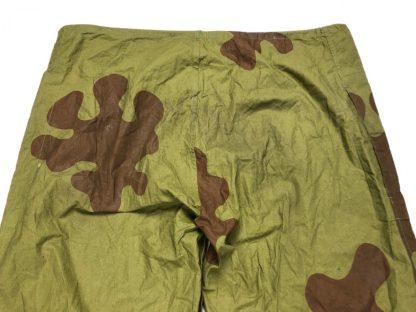 Original WWII Russian 'amoeba' camouflage trousers