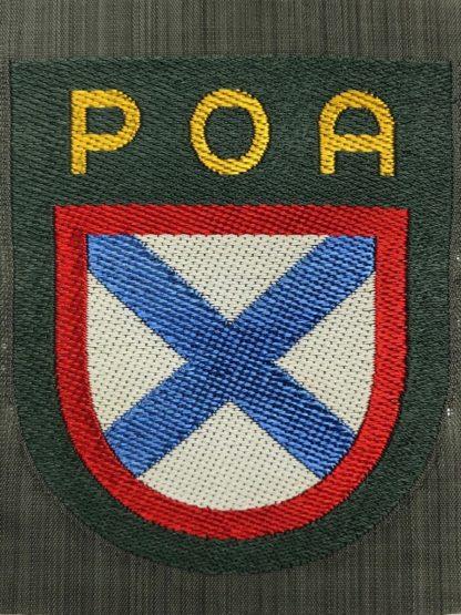 Original WWII German foreign volunteer shield POA