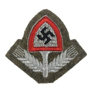 Original WWII German RAD cap insignia