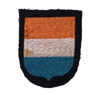 Original WWII Dutch Waffen-SS volunteer shield