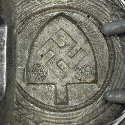 Original WWII German RAD buckle ELJ- Emil Jüttner, Lüdenscheid