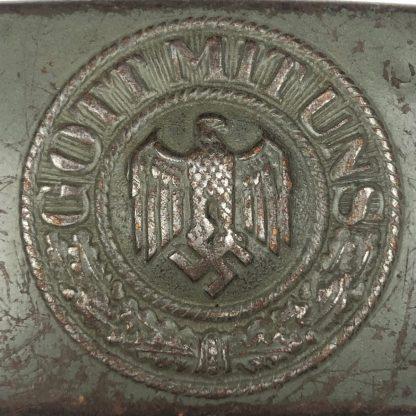 Original WWII German WH Heer buckle – Richard Sieper & Söhne, Lüdenscheid