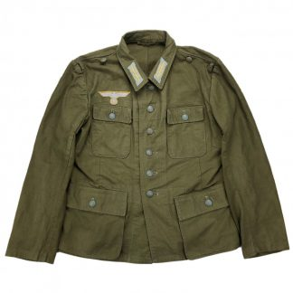 Original WWII German WH 3rd pattern tropical uniform