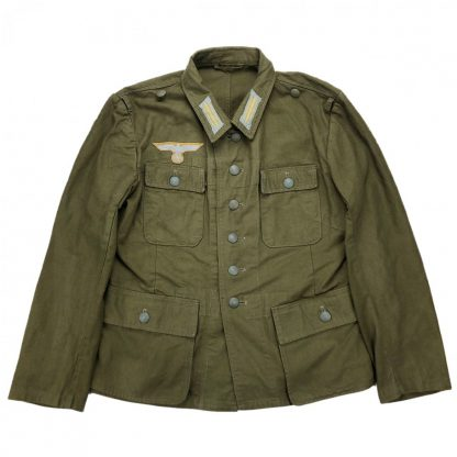 Original WWII German WH 3rd pattern tropical uniform