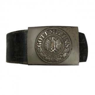 Original WWII German WH belt with buckle