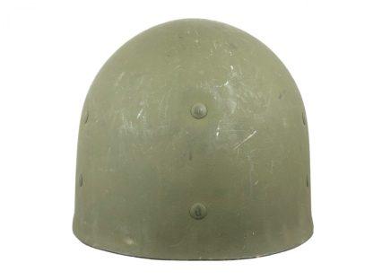 Original WWII US M1 helmet with factory paper