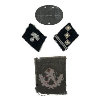 Original WWII Dutch SS-Freiwilligen-Grenadier-Brigade Landstorm Nederland grouping