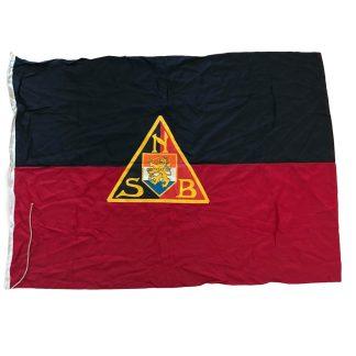 Original WWII Dutch NSB flag