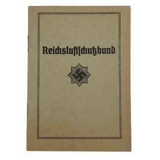 Original WWII German Luftschutz Mitglieds Ausweis