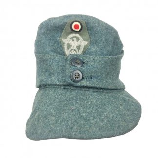 Original WWII German Police M43 field cap