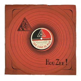 Original WWII Dutch NSB LP Originele WWII Nederlandse NSB LP