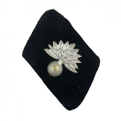 Original WWII Dutch SS-Freiwilligen-Grenadier-Brigade Landstorm Nederland collar tabs