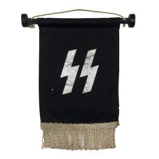 Original WWII Dutch SS table flag