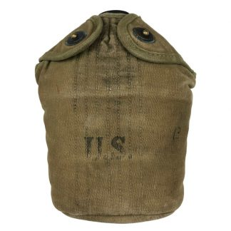 Original WWII US Field bottle with cover