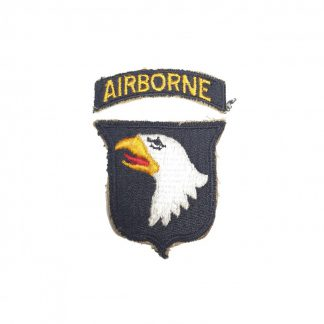 Original WWII US 101st Airborne division patch