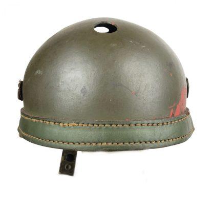 Original WWII US M1938 Tanker helmet Originele WWII US M1938 Tank helm