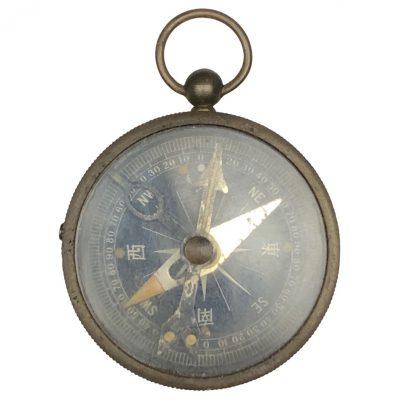 Original WWII Japanese compass Origineel WWII Japans kompas