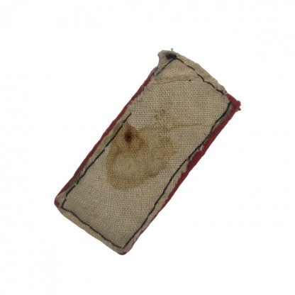 Original WWII Japanese collar tab private 1st class Originele WWII Japanese kraagspiegel Soldaat 1ste klas