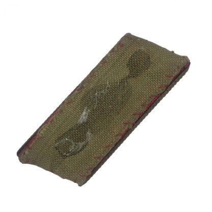 Original WWII Japanese collar tab 2nd Lieutenant Originele WWII Japanese kraagspiegel 2de Luitenant