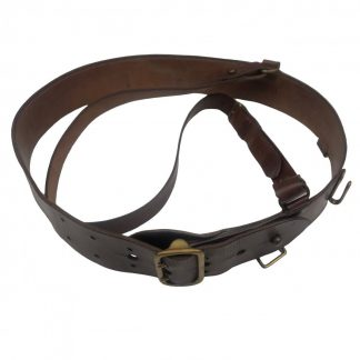 Original Pré 1940 Dutch 'Sam Brown' belt Originele Pré 1940 Nederlandse 'Sam Brown' riem