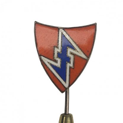 Original WWII Dutch NSB pin for members in Germany Originele WWII Nederlandse NSB lidmaatschap speld voor leden in Duitsland)