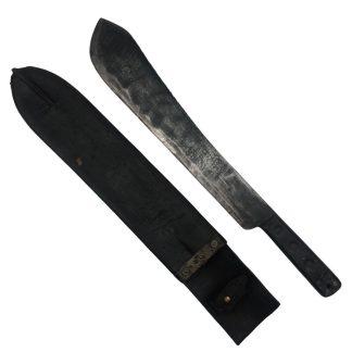 Original WWII Canadian machete with scabbard Originele WWII Canadese machete