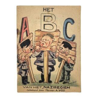 Original WWII Dutch liberation booklet 'Het ABC van het Naziregiem'