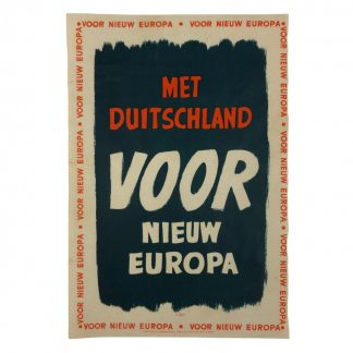 Original WWII Dutch NSB flyer