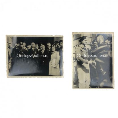 Original WWII Dutch liberation photos Utrecht 1945 Polar Bear division