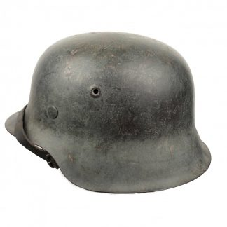 Original WWII German M42 ND helmet
