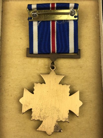 Original WWII US Distinguished Flying Cross in box with ribbon and pin